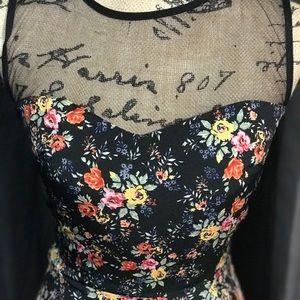 Cute floral summer dress.